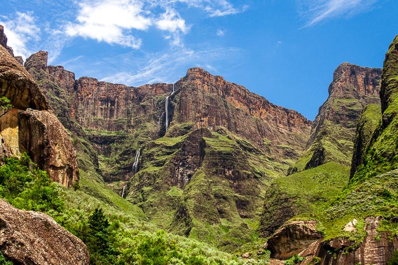 Водопадът Тугела, който се намира в Драконовите планини, е вторият по височина в света