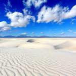 Снежнобялата пустиня на Ню Мексико