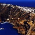 Санторини, или как един вулкан може да създаде приказно място