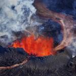 11 невероятни момента от изригването на исландския вулкан Бардарбунга