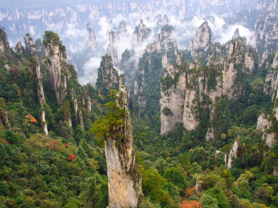 Този парк се използва като прототип за пейзажа във филма Аватар.