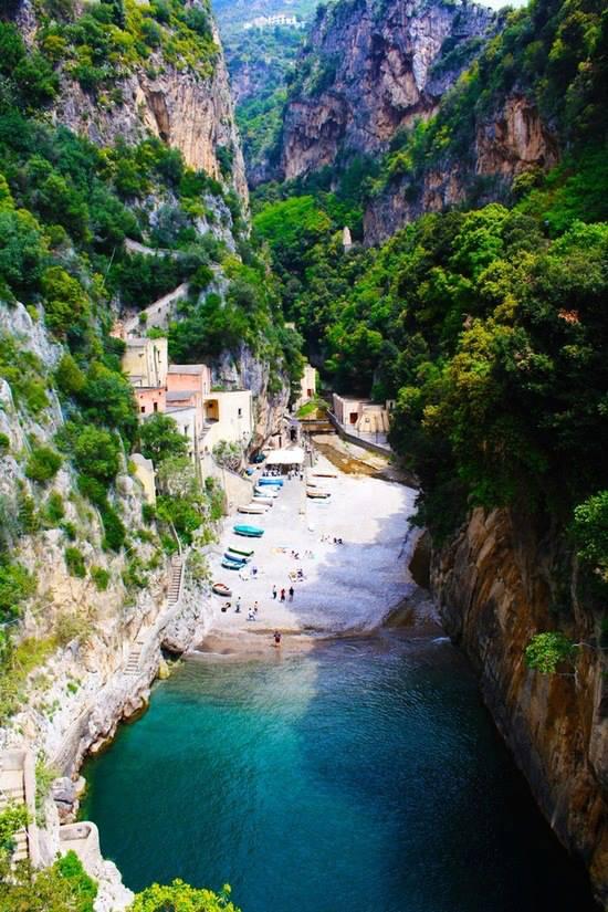 Secluded Beach – Furore – Amalfi, Italy