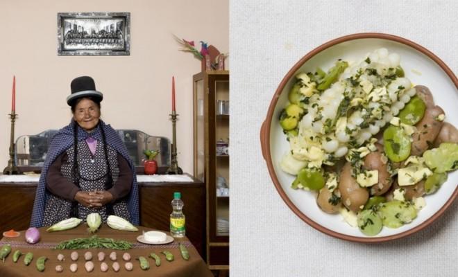 Зеленчукова супа с прясно сирене, Боливия