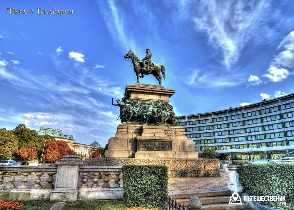 Паметникът на Александър II в София