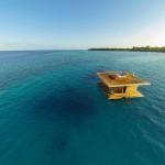 Уникална подводна спалня разкрива зашеметяващи гледки