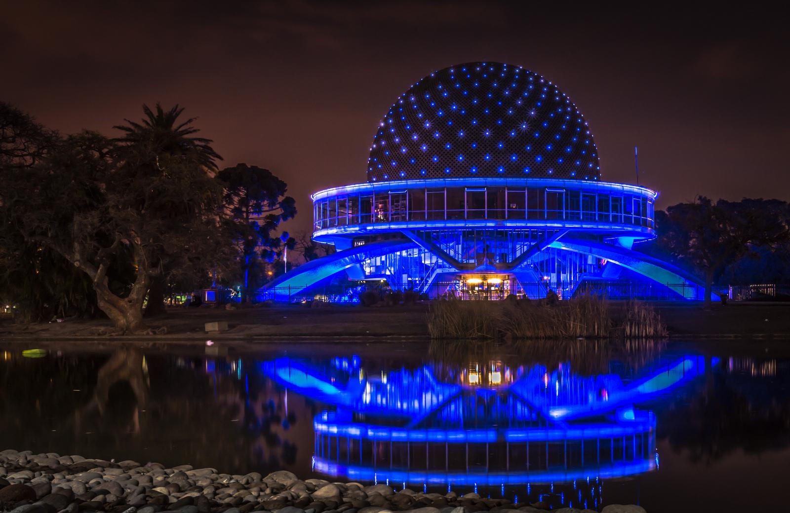 Galileo Galilei planetarium Buenos Aires, Argentina