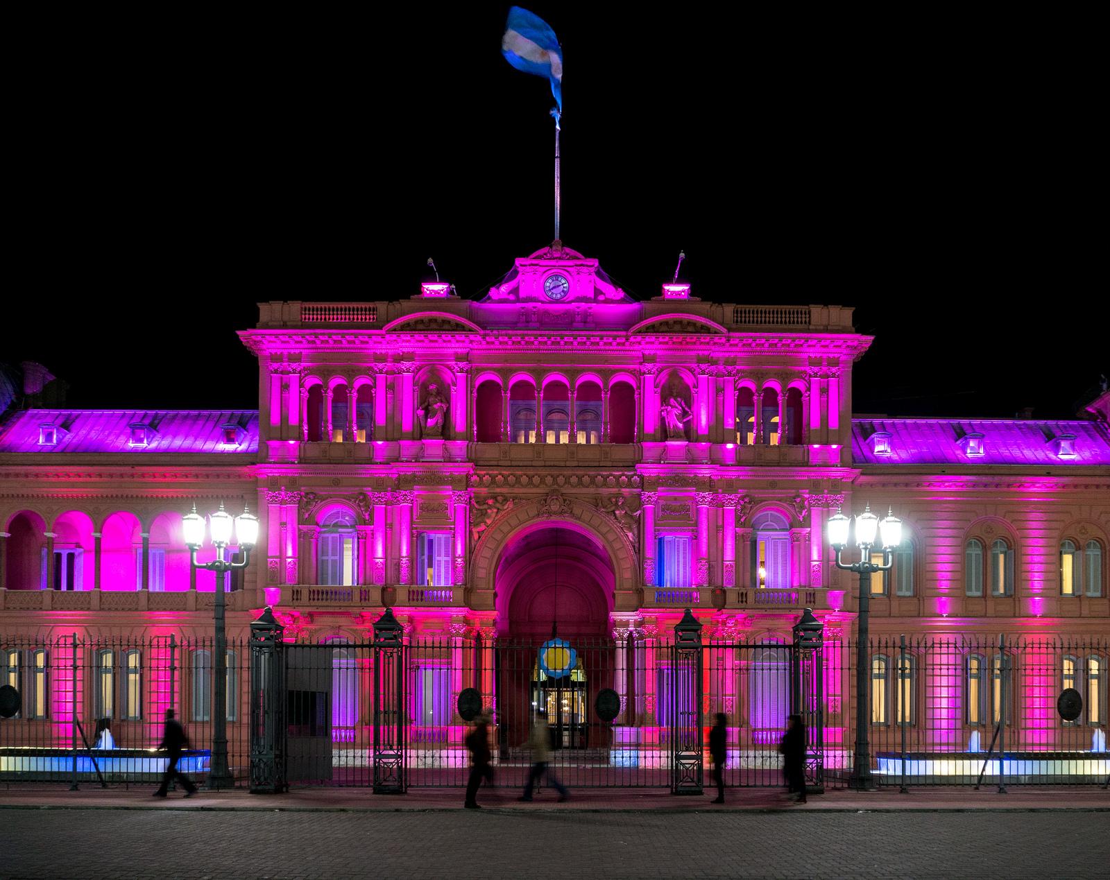 Casa Rosada (Casa de Gobierno) Buenos Aires, Argentina