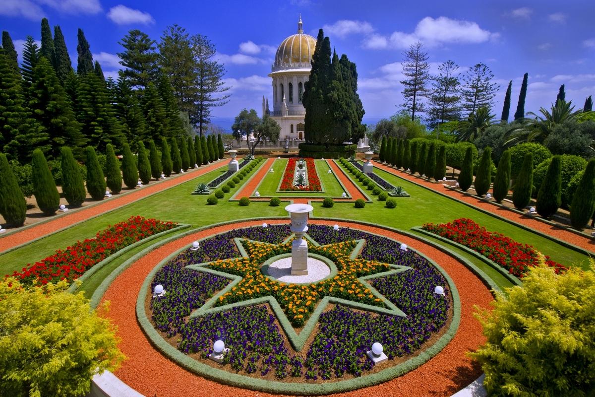 Israel-Haifa-Bahai-Gardens