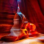 Живописният Каньон на Антилопата в земите на индианците навахо