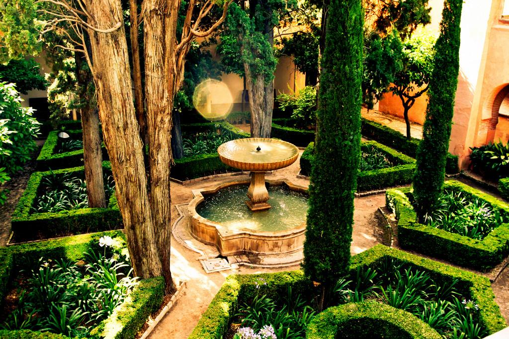 Градините на Аламбра, Испания