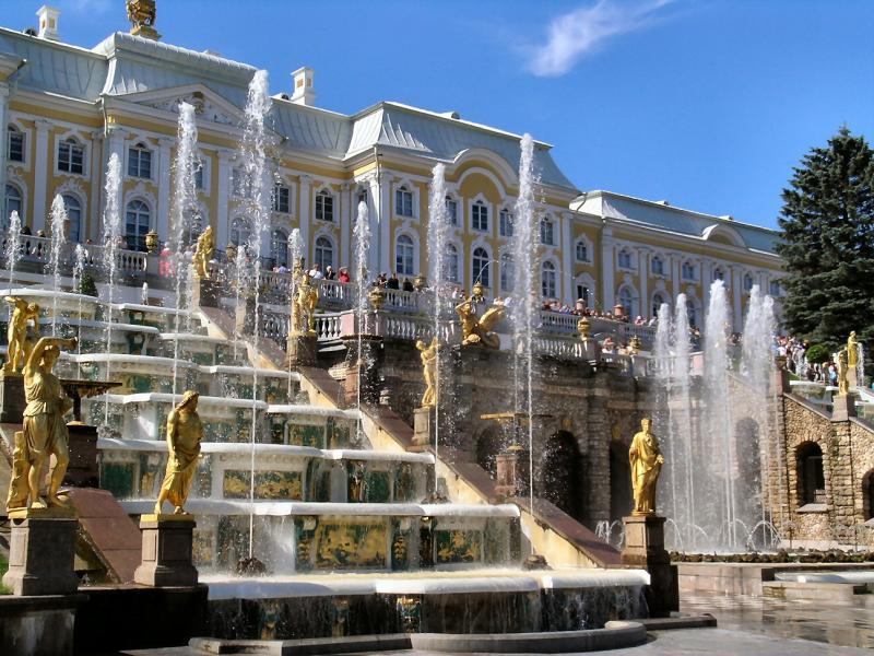 Петерхоф, Русия