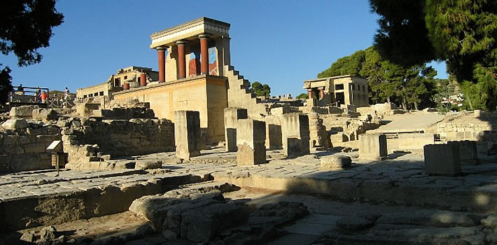 Knossos Palace Greece