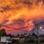 20 зрелищни снимки от неочакваното изригване на вулкана Калбуко