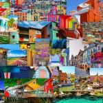 Най-цветните и колоритни места по света
