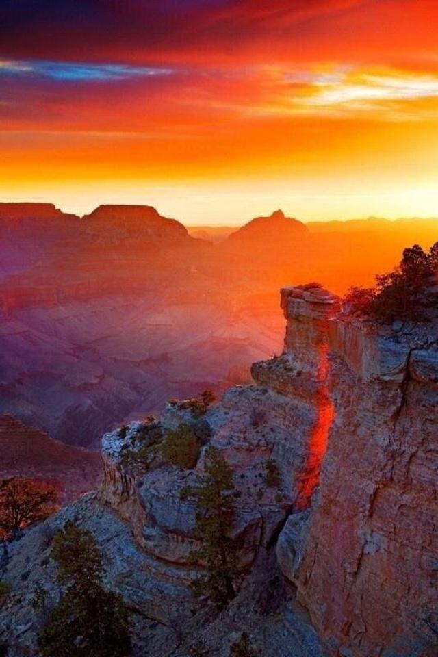 11Grand Canyon Sunset