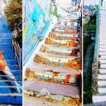 Най-красивите стълби по света