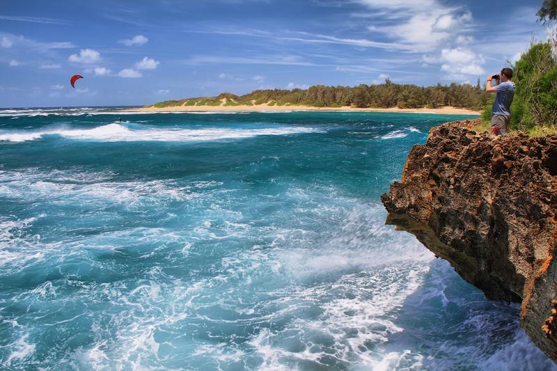 http://www.dreamstime.com/royalty-free-stock-photos-mahaulepu-trail-near-poipu-kauai-hawaii-image36337818
