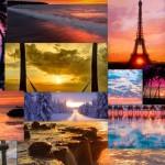 20 вълшебни залеза от всички краища на света