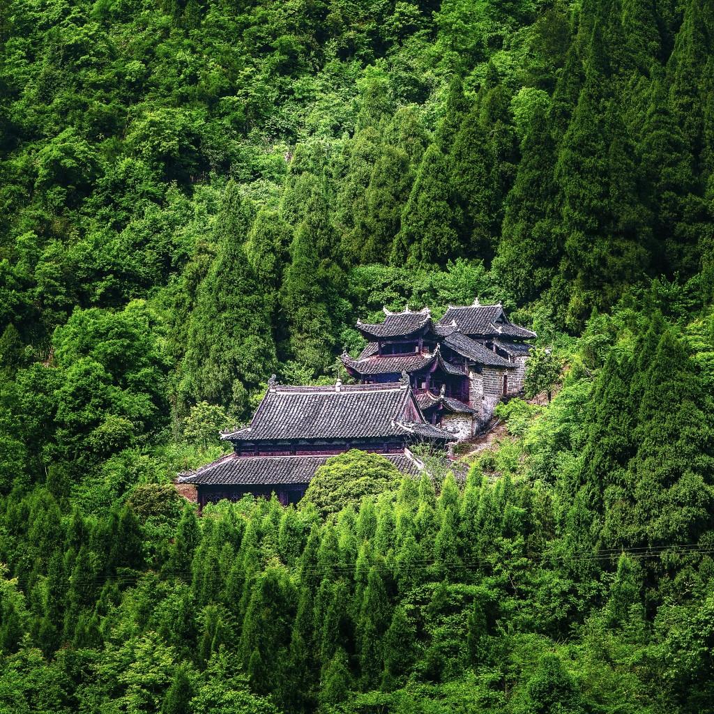 Ensemble de temples du chef du clan, Laosicheng