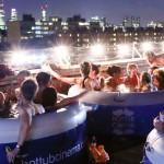 На кино в джакузито по покривите в Лондон