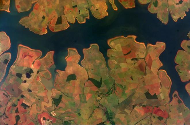 5. Резервоарът Сао Симао в Бразилия – снимка № 300000, изпратена от Международната космическа станция