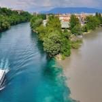 15 удивителни места, където се сливат разноцветни реки