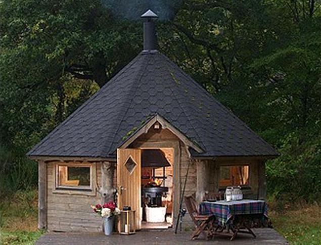 Луксозна хобитска къща в Шотладия, която ще ви позволи да се насладите не само на природата наоколо, но и на уникалното обзавеждане.