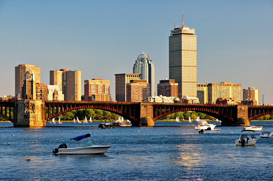 12-chaval-Cambridge view of Boston