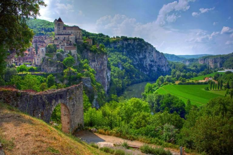 Saint Cirq Lapopie, Lot region, France