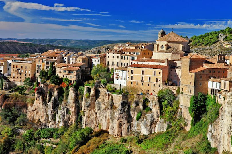 Cuenca. lost in cliffs