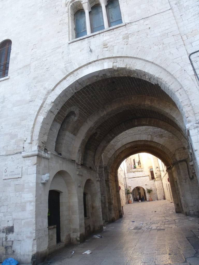 Арка към стария град.