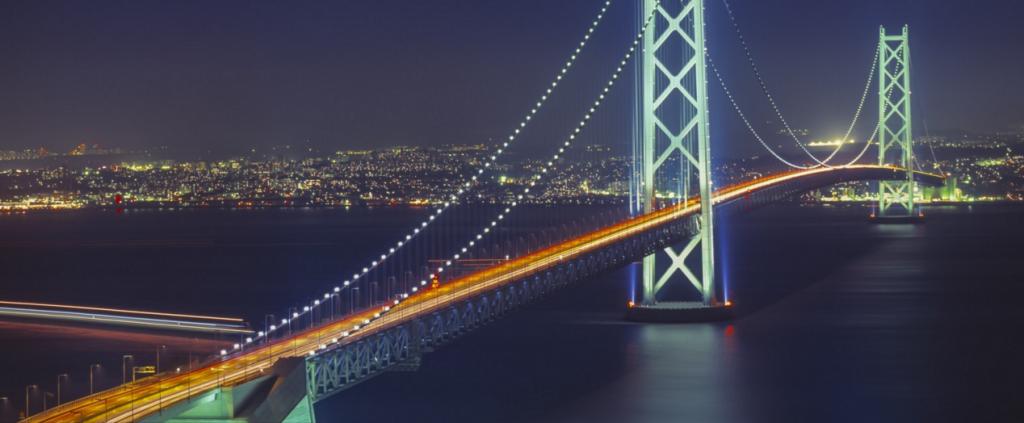 04-Akashi Kaikyo Bridge, Akashi Strait, Japan