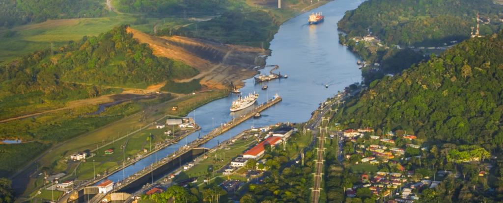 12-Panama Canal, Isthmus of Panama