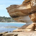Живописните скали на остров Мария