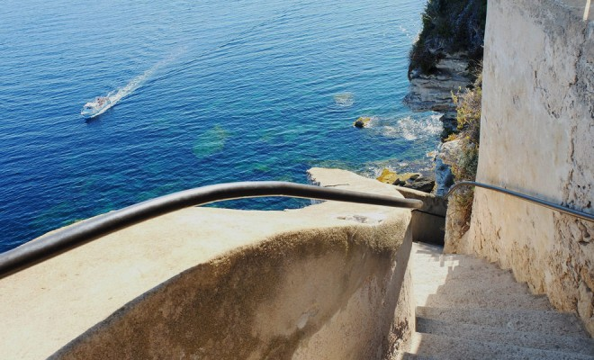 Арагонските стъпала в Бонифацио