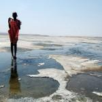 Езерото Магади, от чиито води правят стъкло и хартия