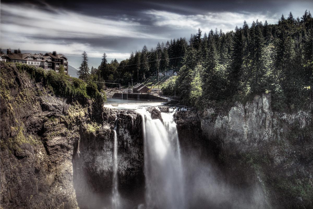 """Водопадът от """"Туин Пийкс"""""""