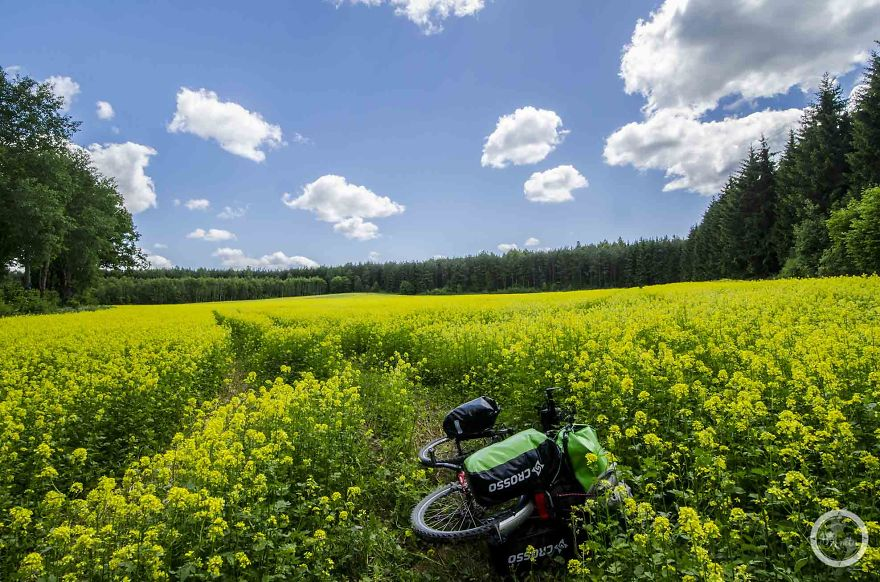 Момичето, което обиколи Полша (3551 км) със своето колело
