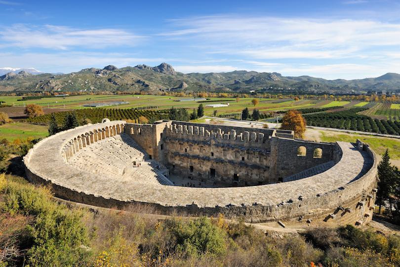 Roman amphitheatre of Aspendos