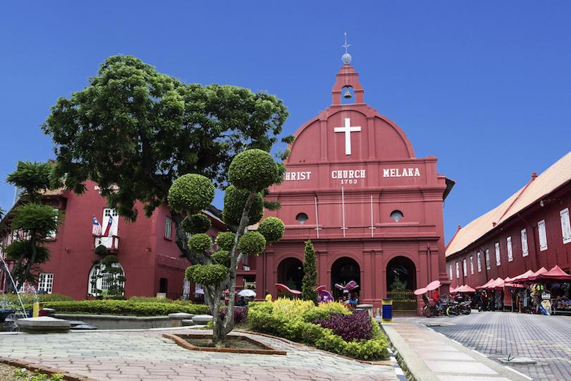 Christ church in Malacca