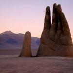 Вижте гигантската ръка на пустинята Атакама