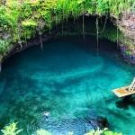 To Sua Ocean Trench - най-красивото място за плуване в Самоа