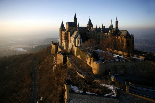 Hohenzoller-Castle-exterior