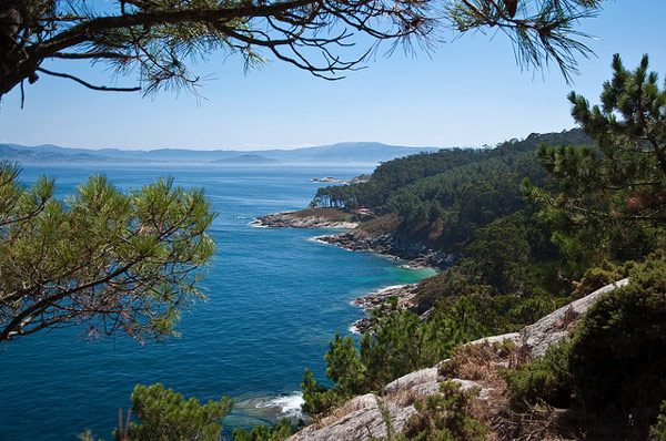 Las-Islas-Cies-Galicia-Spain-beautiful-beach-on-a-budget