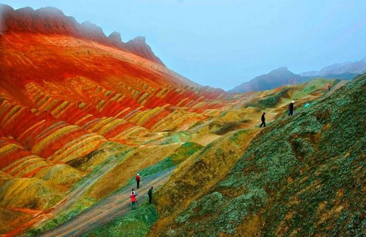 Zhangye-Danxia-Landform-1