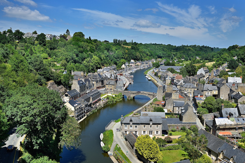 Dinan in der Bretagne