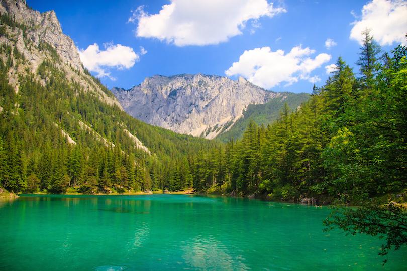 Gruner see lake