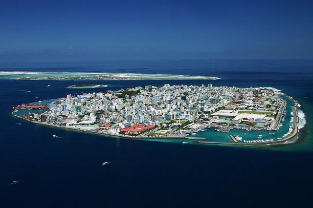 Столицата на Малдивите - Мале