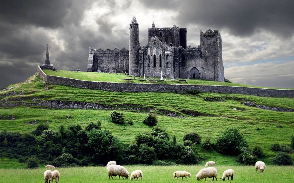 The Rock of Cashel was the residence of the high kings of Munster for several hundred years before the Normans.