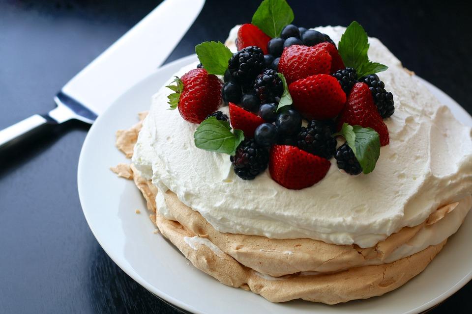 павлова, торта, сладкиш